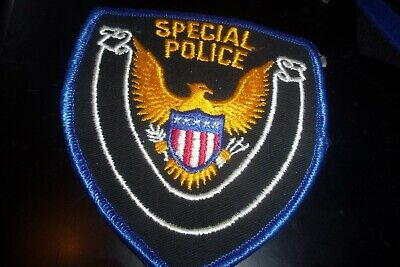 £5 • Buy Large U S A SPECIAL POLICE CLOTH BADGE