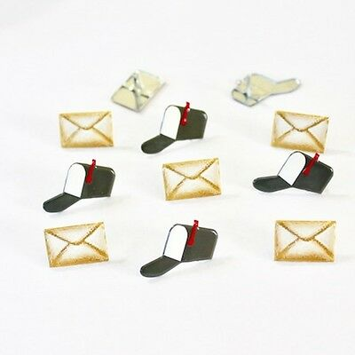 $2.25 • Buy Mail  Brads *  Eyelet Outlet  8 Pcs Letter New Mail Boxes & Letters