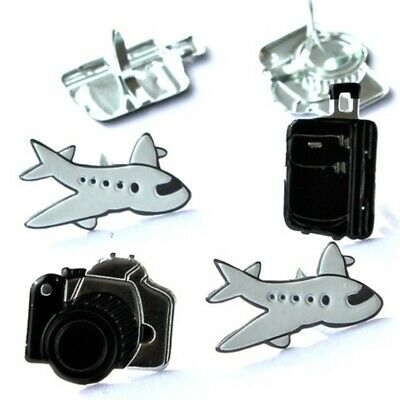 $2.25 • Buy Travel Brads *  Eyelet Outlet *  8 Pcs  Airplane, Camera, Suitcase  Brand New!