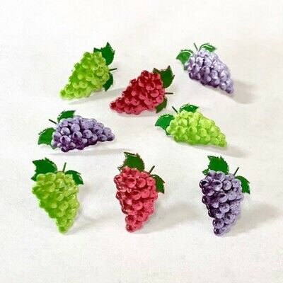 $2.25 • Buy Grape  Brads ** Snack, Fruit, 3 Colors
