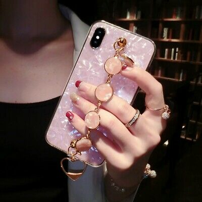 AU16.99 • Buy For IPhone 11 12 Pro Max XS XR 6 7 8 Girl's Luxury Marble Pattern Case Cover