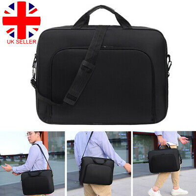 15 Inch Laptop PC Waterproof Shoulder Bag Carrying Soft Notebook Case Cover W • 9.68£