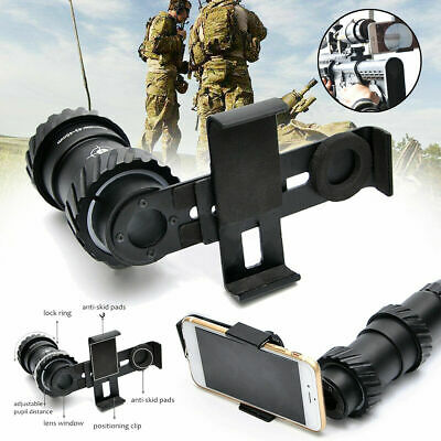41-44MM Rifle Scope Mount Adapter Camera Smartphone Holder Universal For Phone • 24.21£