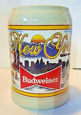 $ CDN74.32 • Buy Budweiser Special Event Steins Collectible Series 1992 New York State II #1095