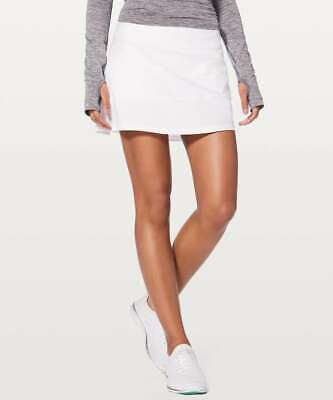 $ CDN94.74 • Buy NWT & NWOT - Lululemon Pace Rival Skirt (Tall) *4-way Stretch 15  White 4, 6, 8