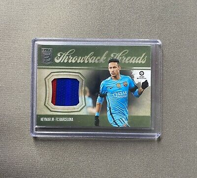 AU24.99 • Buy 2019-20 Panini Chronicles Elite Soccer Throwback Threads NEYMAR JR PATCH