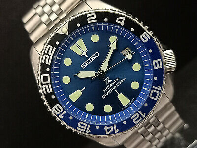 $ CDN108.60 • Buy Seiko Diver 7002-700a Stunning Blue Prospex Mod Automatic Mens Watch 161386