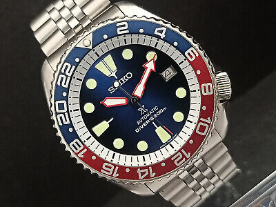 $ CDN81.79 • Buy Seiko Diver 7002-7001 Lovely Save The Ocean Mod Automatic Mens Watch 502653