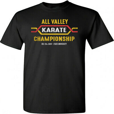$14.25 • Buy All Valley Karate Kid T-shirt Classic Retro 80s Film Movie MMA Size S M L XL 2XL