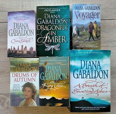 AU47 • Buy   Diana Gabaldon Outlander Series Books 1-6. Historical Fiction