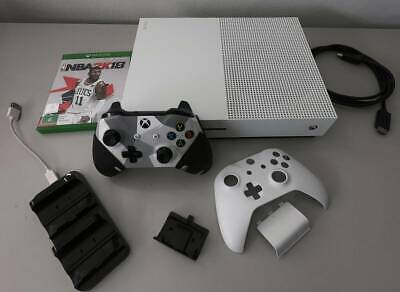 AU300 • Buy Xbox One S 500GB White Console   Customised Controller   Game