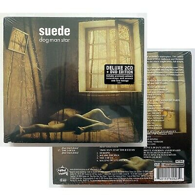 SUEDE Dog Man Star - NEW & SEALED Deluxe Edition 3-Disc CD & DVD Set (2011) • 14.99£