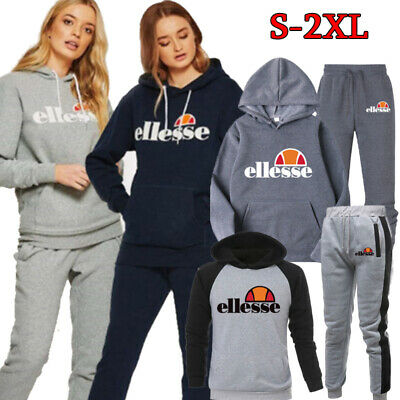 2 Piece Track Suit Set Top And Bottoms Casual Loungewear Sweatshirt Joggers Set • 17.89£