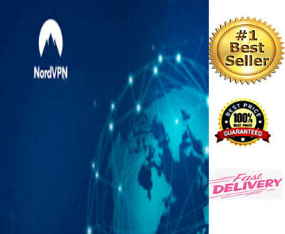 New NORDVPN PREMIUM ACCOUNTS 1 TO 3 YEARS FAST DELIVERY • 2.26£