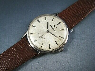 $ CDN355.47 • Buy Vintage Longines Wittnauer Stainless Steel Hand  Winding Mens Watch 17J 1960s