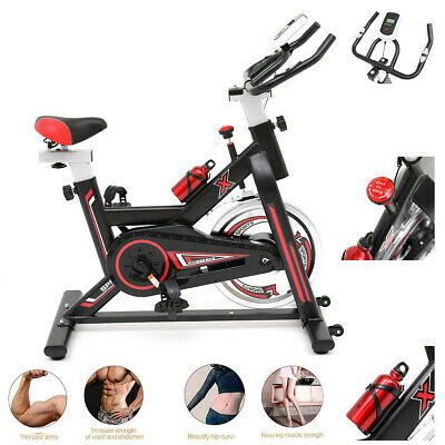 Spinning Exercise Bike Home Cardio Workout Aerobic Training Cycle Indoor Fitness • 119.99£