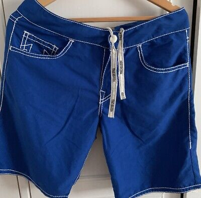 Mens TRUE RELIGION W32  Board Surfing Surf Swimming Swim Shorts • 25£