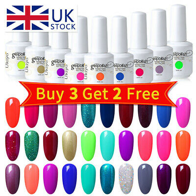Ukiyo UV Gel Nail Polish Varnish Lacquer Manicure No Wipe Top Base Coat  • 2.99£