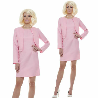 Thunderbirds Lady Penelope Costume Adults Licensed 1980s TV Show Fancy Dress Out • 32.99£
