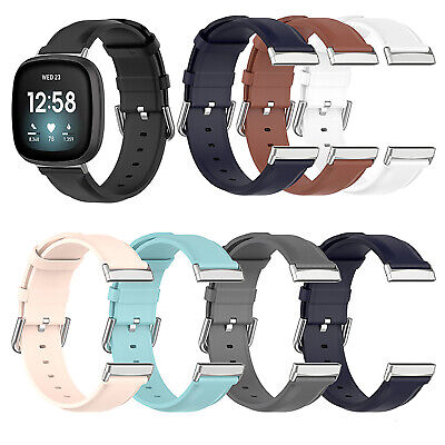 $ CDN13.46 • Buy Replacement Leather Strap Wristwatch Band Strap For Fitbit Versa3/Sense Watch