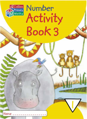 Collins Primary Maths - Year 1 Number Activity Book 3: Year 1 Bk.3, , Used; Good • 5.30£