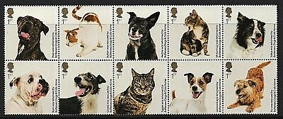GB Stamps 2010 'Battersea Dogs & Cats Home' - U/M • 8.99£
