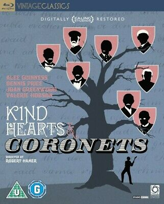 Kind Hearts And Coronets  [Blu-Ray] *New & Factory Sealed* • 12.99£