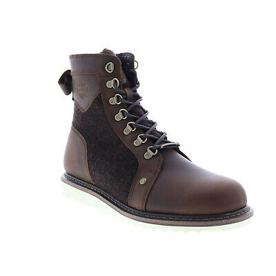 $ CDN59.15 • Buy Harley-Davidson Bryant D93632 Mens Brown Leather Zipper Motorcycle Boots