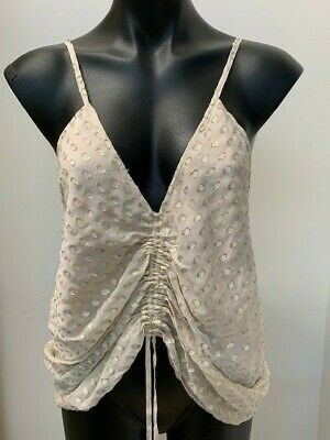 AU60 • Buy ALICE MCCALL Silk Stardusk Cami - Shell Colour. SZ10. New With Tags. 30315