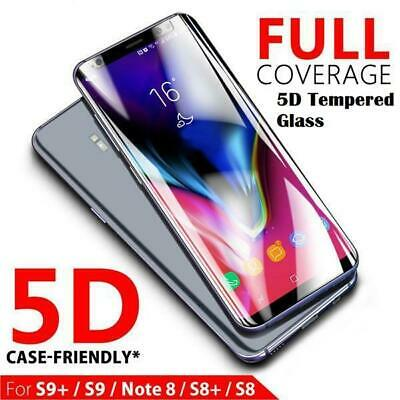 £2.89 • Buy For Samsung Galaxy S8 S9 Plus S7 Edge Full Cover Tempered Glass Screen Protector