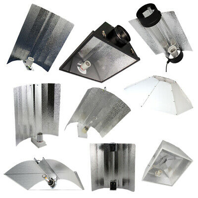 £12.50 • Buy Reflector Euro Wing Cool Air Cooled Parabolic Adjustable CFL 315W Hydroponics