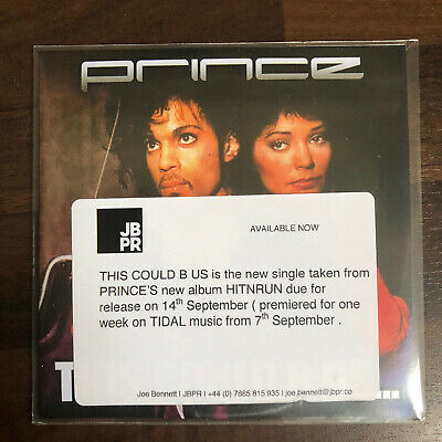 Prince - This Could Be Us - Mint Condition UK Cd Promo + Press Sticker • 11.99£