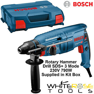 Bosch Rotary Hammer Drill SDS Plus Professional Heavy Duty 230V 790W 3 Mode SDS+ • 119.65£