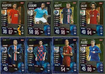Match Attax 2019/20 Pick Your 100 Hundred Club/limited Edition From List • 4.99£