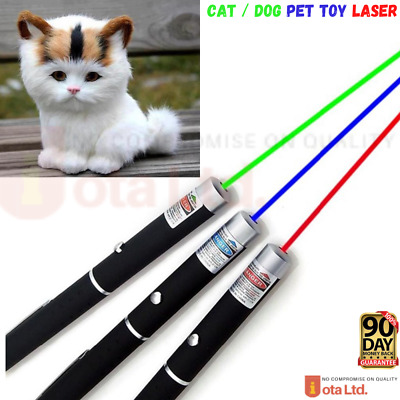 Laser Teaser Pen Cat Pointer Kitten Play Toy Mouse Projecting Flash Fun Exercise • 3.50£