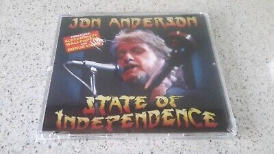 Jon Anderson State Of Independence Yes Prog Rock Spike Milligan The Goon Show CD • 6.99£