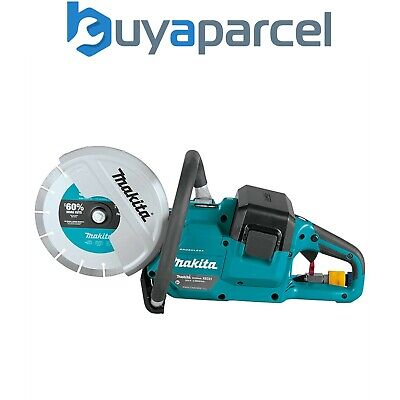 £429.99 • Buy Makita DCE090ZX1 Twin 18v / 36v 9  Cordless Brushless Disc Cutter Saw - Bare
