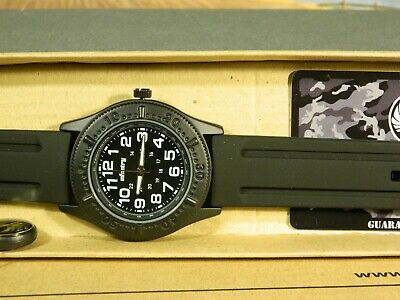 Men's Watch Infantry Watch Co. IN-041-BLK-R  INFANTRY  BLACK, RUBBER BAND • 5.16£