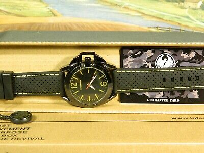 Men's Watch Infantry Watch Co. IF-010-Y-R  INFILTRATOR  YELLOW, RUBBER BAND • 5.16£