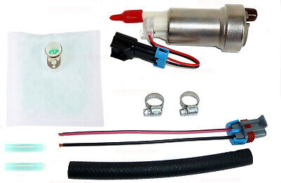 $80.45 • Buy Walbro F90000274 In-Tank E85 Fuel Pump W 400-0085 Installation Kit 450LPH Racing
