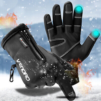$12.95 • Buy Thermal Winter Driving Hiking Gloves Touch Screen Warm Mittens For Men Women USA