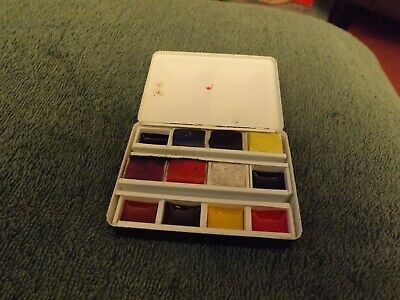 Winsor And Newton Small Watercolour Set In Thumb Ring Tin  • 8.50£