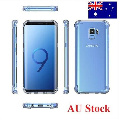 AU5.45 • Buy Heavy Duty Soft Clear Slim Gel Case Cover For Samsung Galaxy S8 S9 S10 Plus S10E