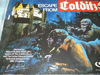 Escape From Colditz Game - Parker - Colditz Game - 100% - 1970's - Good Order • 54.99£