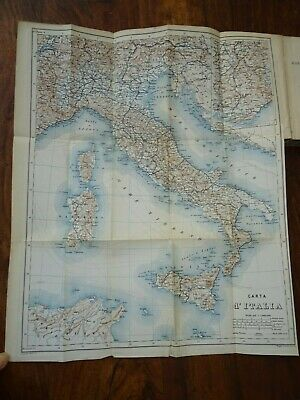 £19.99 • Buy 1883 Italy Handbook For Travellers By Baedeker Part Ii Central Italy Rome Maps ^