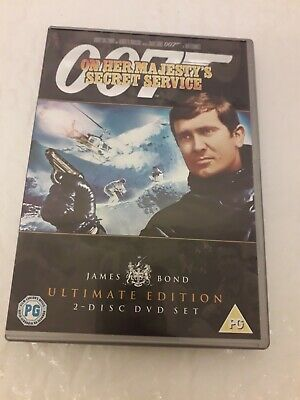 James Bond - On Her Majesty's Secret Service (Ultimate Edition 2 ... - DVD  0YVG • 2.70£