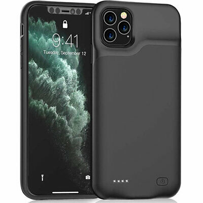 £23.99 • Buy External Battery Case For IPhone X/XS XS Max 11 12 Pro Max 6500mAh Best Quality