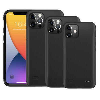 External Battery Case For IPhone X XS XS MAX XR 11 11 Pro Max 6200 MAh UK • 21.99£