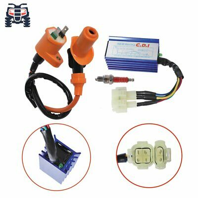 $14.78 • Buy NEW Racing Ignition Coil Spark Plug AC CDI Box Fit For GY6 50cc 125cc 150cc USA