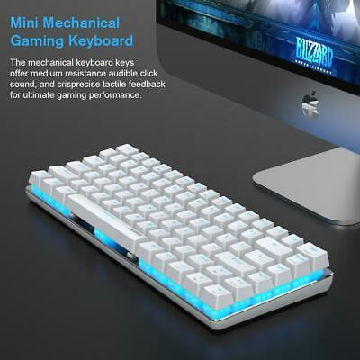 AU62.48 • Buy [Aussie Stock] TKL White Gold Mechanical Keyboard, Ajazz AK33 Blue Switch